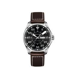 Hamilton H64715535 Khaki Pilot Day Date 46mm Black Pilot Day/Date Auto 46mm Black