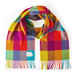 Avoca Circus Merino Scarf Woven in the Avoca Mill in Ireland
