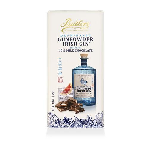 Butlers 100g Drumshanbo Gumpowder Irish Gin Chocolate Bar