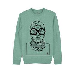 Jill & Gill Mint Iris Sweater S