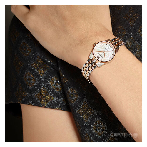 Certina C0330512211800 Ds 8 Lady Watch Silver 27.5mm