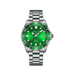 Certina C0324101109100 Ds Action Gent Watch Green 41mm