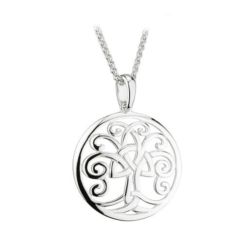 Solvar  S/S Celtic Tree Of Life Pendant