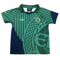 Irish Memories Green GAA Kids Performance Top