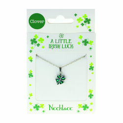 Clover Clover Necklace - Filled Clover