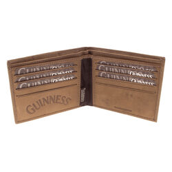 Guinness Brown Wings Leather Wallet