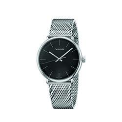 Calvin Klein K8M21121 High Noon Mesh Strap Watch Mens Silver