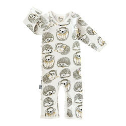 Fauna Kids Babygrow/Romper Hedgehog Organic 0-3 Months