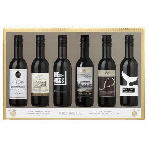 World Wine Cellars Gift Set Red Wine 6x 18.7cl