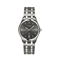 Certina C0224104408100 Ds 4 Gent Watch Grey 38mm