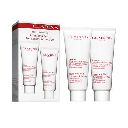 Clarins Hand & Nail Treatment Cream Duo