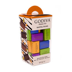 Godiva Small Tower Napolitains 55 pieces 225g
