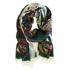 Book of Kells Purple Celtic Design Scarf