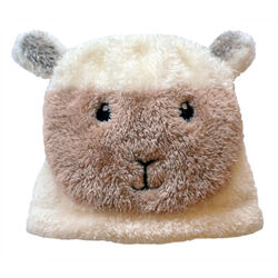 Patrick Francis Cream Baby Sheep Hat