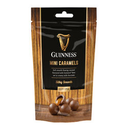Guinness Miniature Chocolate Caramels  Silky Smooth 102g