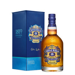 Chivas Scotch Whisky Scotland 18 Year Old Blended 1L 18 Yo Blended 70Cl Bottle