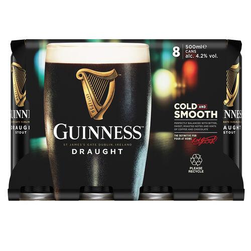 Guinness Guinness 8 Pack Beer  8x50cl