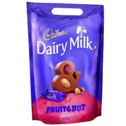 Cadbury Fruit & Nut Chunks Pouch  400g