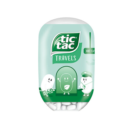 Tic Tac Tic Tac Bottle Mint 98g