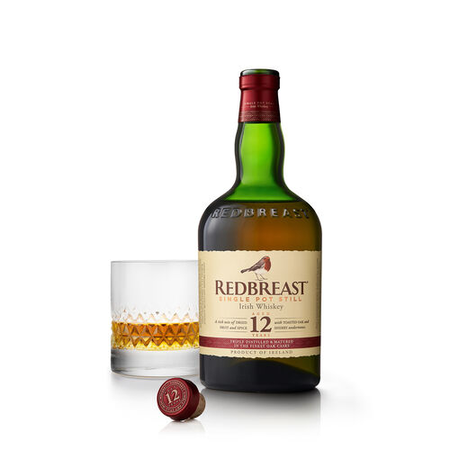Redbreast Irish Whiskey Ireland 12 Year Old  0.7ltr 12 Yo 70cl Bottle