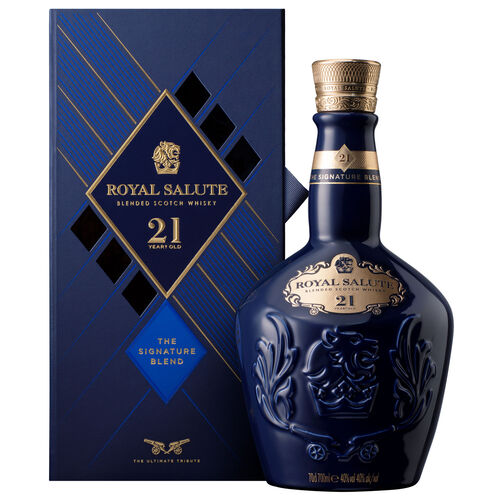 Royal Salute 21 Year Old The Signature Blend Blended Scotch Whisky 70cl