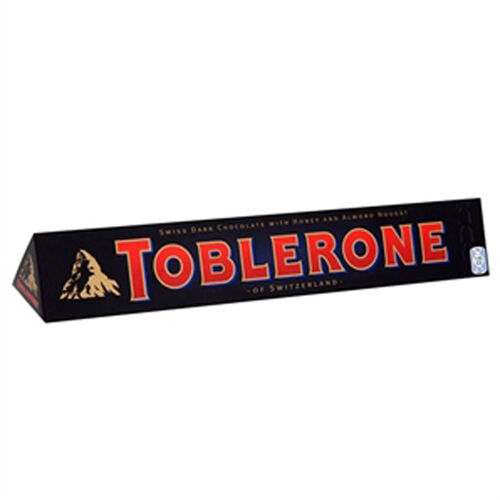 Toblerone Dark Chocolate Bar  400g