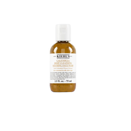 Kiehls Calendula Deep Cleansing Foaming Face Wash 75ml