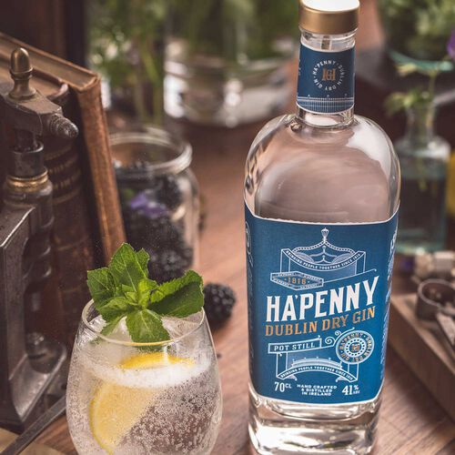 Ha'Penny Dublin Dry Gin 41% ABV