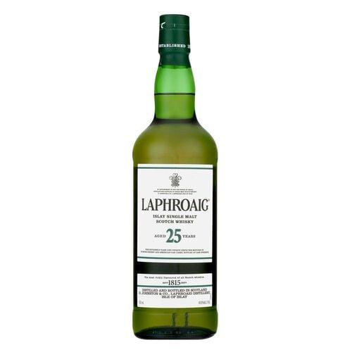 Laphroaig 25yr Single Malt  70cl