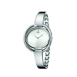 Calvin Klein K4F2N116 Impetuous Bangle Watch Ladies Silver