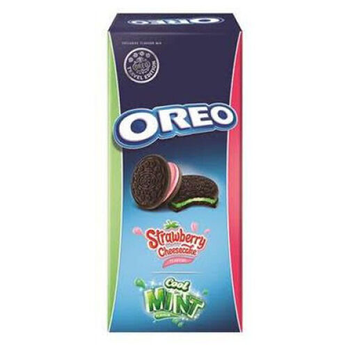 Oreo Strawberry Cheesecake & Cool Mint 308g