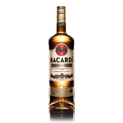 Bacardi Carta Oro Golden Rum 1L