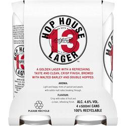 Guinness Hop House 13 Lager Pack  4 x 500ml