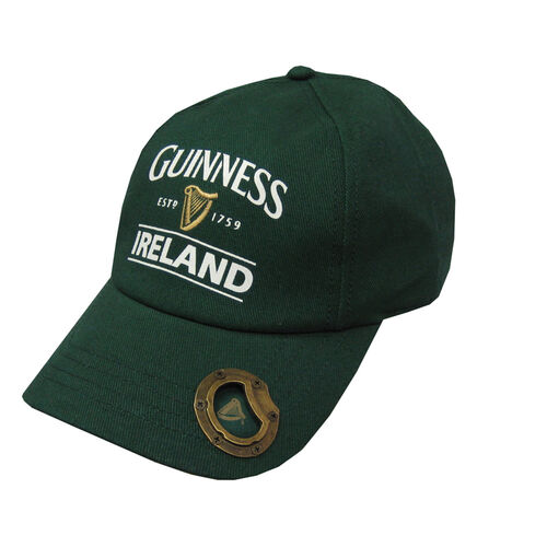 Guinness Guinness Logo Cap With Bottle Opener