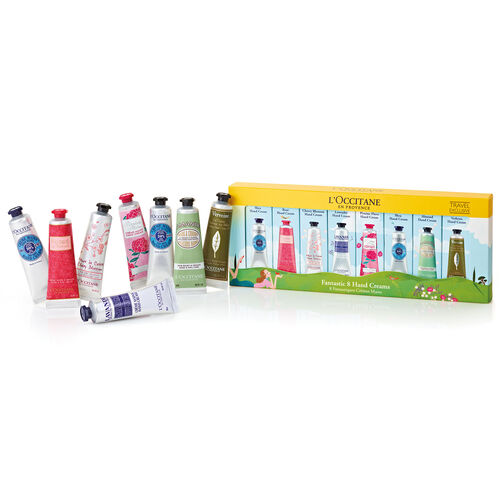 L'Occitane Fantastic 8 Handcream Set 8x30ml