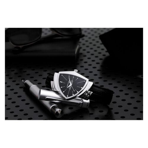 Hamilton H24411732 Ventura Quartz 32.3X50.3mm Black Quartz 32.3mm Black