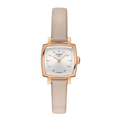 Tissot T0581093603100 Lovely Square Silver Dial 20mm