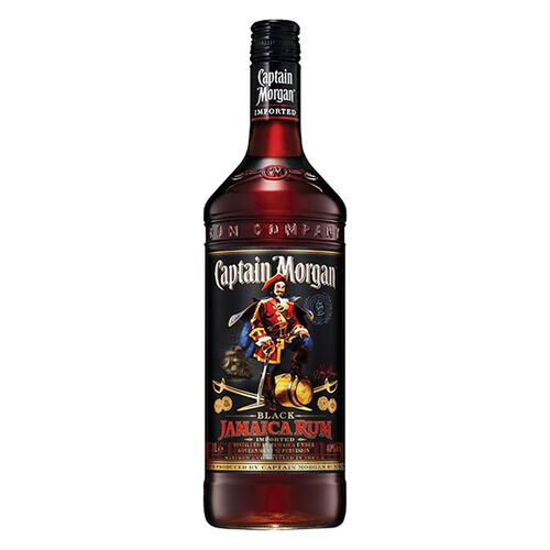 Captain Morgan Black Label Rum 1L