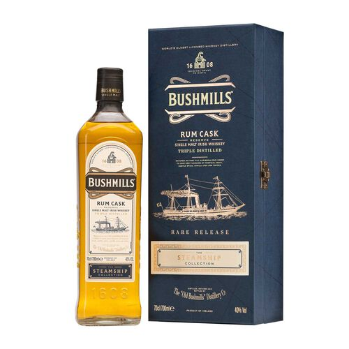 Bushmills The Steamship Collection  #4 Rum Cask Reserve 70cl