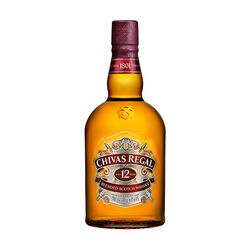 Chivas Scotch Whisky Scotland 12 Year Old Blended 1L Scotland 12 Yo Blended 1L Bottle