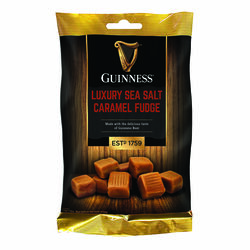 Guinness Sea Salt Caramel Fudge Bag 120g