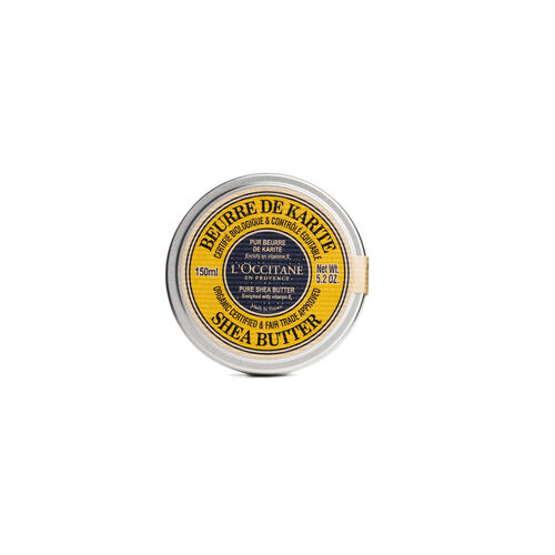 L'Occitane Shea Butter Certified-Organic 150ml