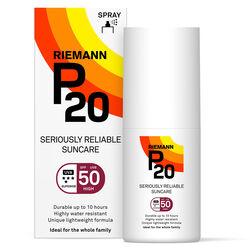 P20 Sun Protection Spray Spf50 Travel Size 40ml