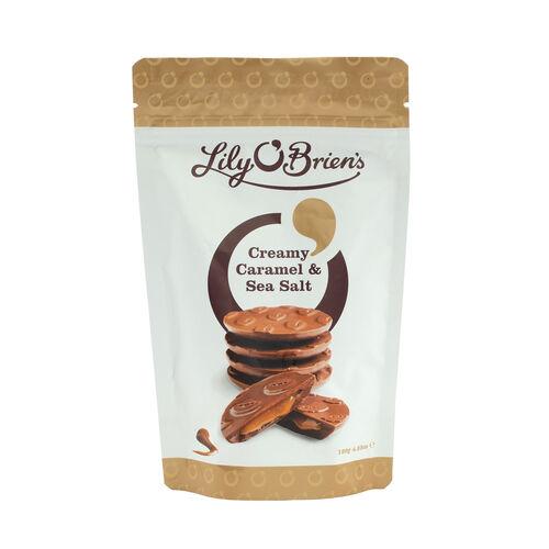 Lily O Briens Creamy Caramel with  Sea Salt Share Bag