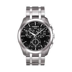 Tissot T0356171105100 Couturier Chronograph Black Dial 41mm