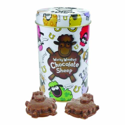 Wacky Woolies Chocolate Sheep In A Can
