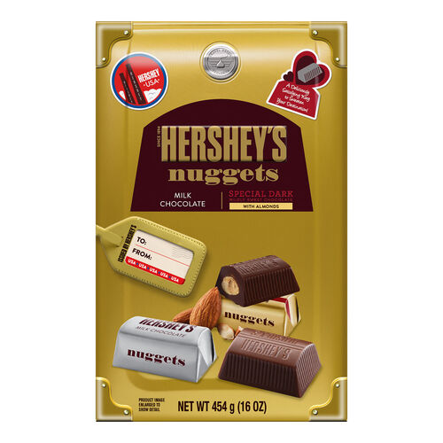 Hersheys Assorted Nuggets Traveler Collection Box  454g