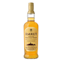 Amrut Single Malt 43%, 70cl - Indian Single Malt