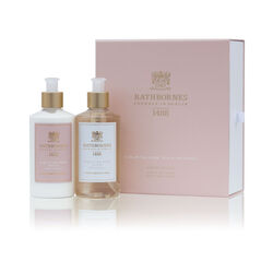 Rathborne  Dublin Tea Rose, Oud and Patchouli Luxury Wash and Lotion Gift Set