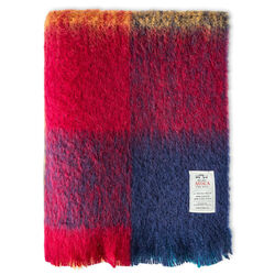 Avoca Harriet Mohair Throw Woven in the Avoca Mill in Ireland